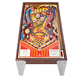 Superman Pinball Table :  uncommongoods pinball table michael maxwell funky