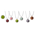 SUPER PUFFY BOTTLECAP NECKLACES