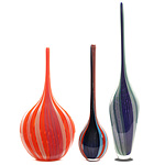 Filigrana Art Glass Bottles