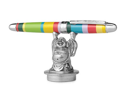 HAPPY BUDDHA PEN HOLDER