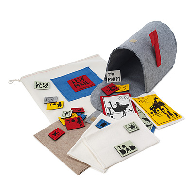 LET'S PLAY MAIL MAILBOX PLAY SET