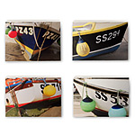 BOAT PRINTS - SET OF 4