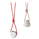 STERLING SILVER CANDY HEART NECKLACE | Laura Lobdell Hand Cast Candies Heart Necklace, Sweetheart, Valentines Day, Be My Valentine Candies, Solid Sterling Silver | UncommonGoods :  necklace laura lobdell candy fun