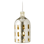 VINTAGE 1930'S SELTZER BOTTLE PENDANT LAMP | Vintage Argentinian Seltzers Metal And Glass Hanging Lamps | UncommonGoods