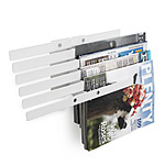 ILLUZINE MAGAZINE RACK | Floating Metal Magazines Racks, Magazines Shelf, Racks Float On Wall, Modern, Unique, Fun, Functional | UncommonGoods