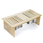 MAGTABLE COFFEE TABLE | Magazine Tables Features Slots To Hang Magazines, Home Decor, Storage, Modern Design, Smart Furniture Solution | UncommonGoods from uncommongoods.com