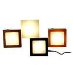 CHOCOLATE TWIST TOGETHER LAMP | Cocoa Brown, Tan And White TwistTogether Lamps, Modular Light Blocks, Form Different Shapes, Geometry Building Blocks, Atmosphere | UncommonGoods
