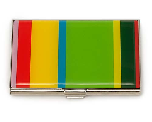 GENE MEYER STRIPED CARD CASE