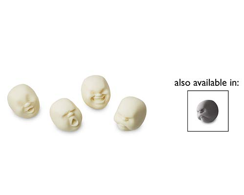 FACES OF THE MOON STRESS BALLS