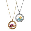 Starfish and Bird Lockets