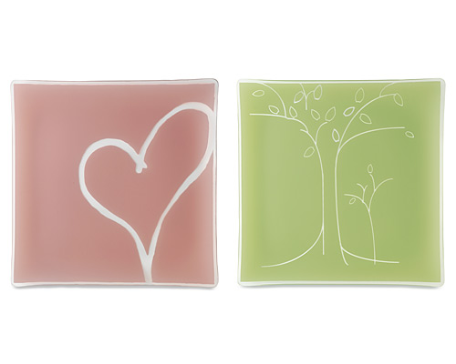 LOVE AND FAMILY SERVING PLATTERS