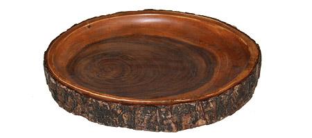 KAMANI BARK BOWL | Bark Tray, Wood Circular Dish, Kamani Bowl | UncommonGoods :  handmade wood dish bowl