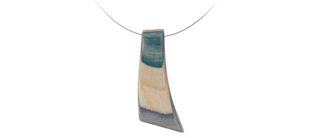 RECYCLED SKATEBOARD WAVE NECKLACE | Skateboard Necklace, Wave Necklace, Skater Jewelry, Recycled Jewelry, Necklace Made From Skateboards | UncommonGoods :  recycled skateboard wave necklace jewelry skater skateboard