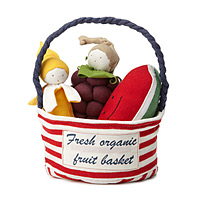 Fresh Organic Fruit Basket