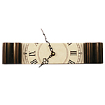 GRANDFATHER CLOCK | Slice Of Grandfather Clock, Piece Of Grandfather Clock, Unique Clocks | UncommonGoods :  uncommongoods hip home decor fun