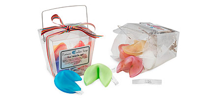 FORTUNE COOKIE SOAP SETS | Soap, Pastel, Fortune Cookie, Handmade in Tulsa | UncommonGoods