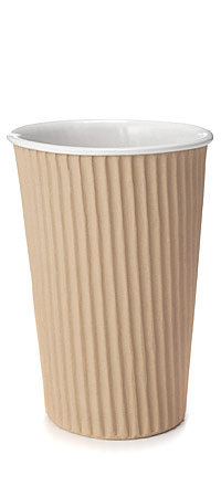 CORRUGATED CARDBOARD CERAMIC CUP Cardboard Ceramic Cup Corrugated Handmade Porcelain UncommonGoods from uncommongoods.com