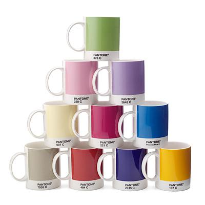 Pantone Mugs 2011 Pantone Mug Set of 10