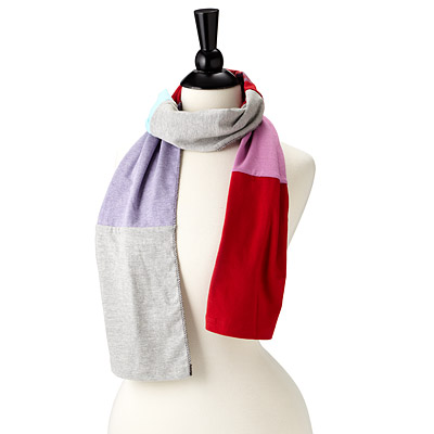 RECLAIMED T-SHIRT SCARF