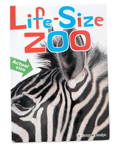 LIFE SIZE ZOO BOOK