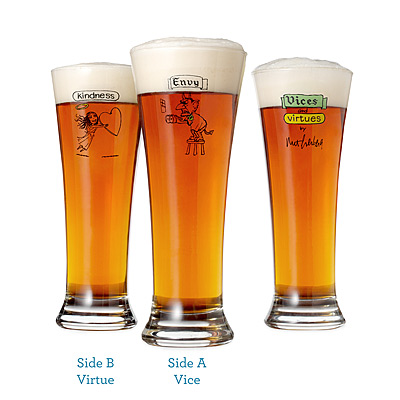 VICES & VIRTUES GLASSES-SET OF 8