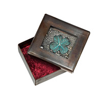 Luck Copper Reliquary Box