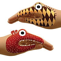 Animal & Monster Hand Tattoo Sets