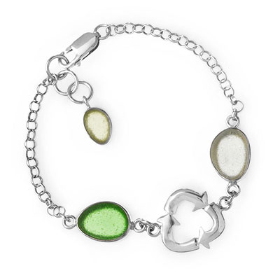 SEAGLASS RECYCLE BRACELET