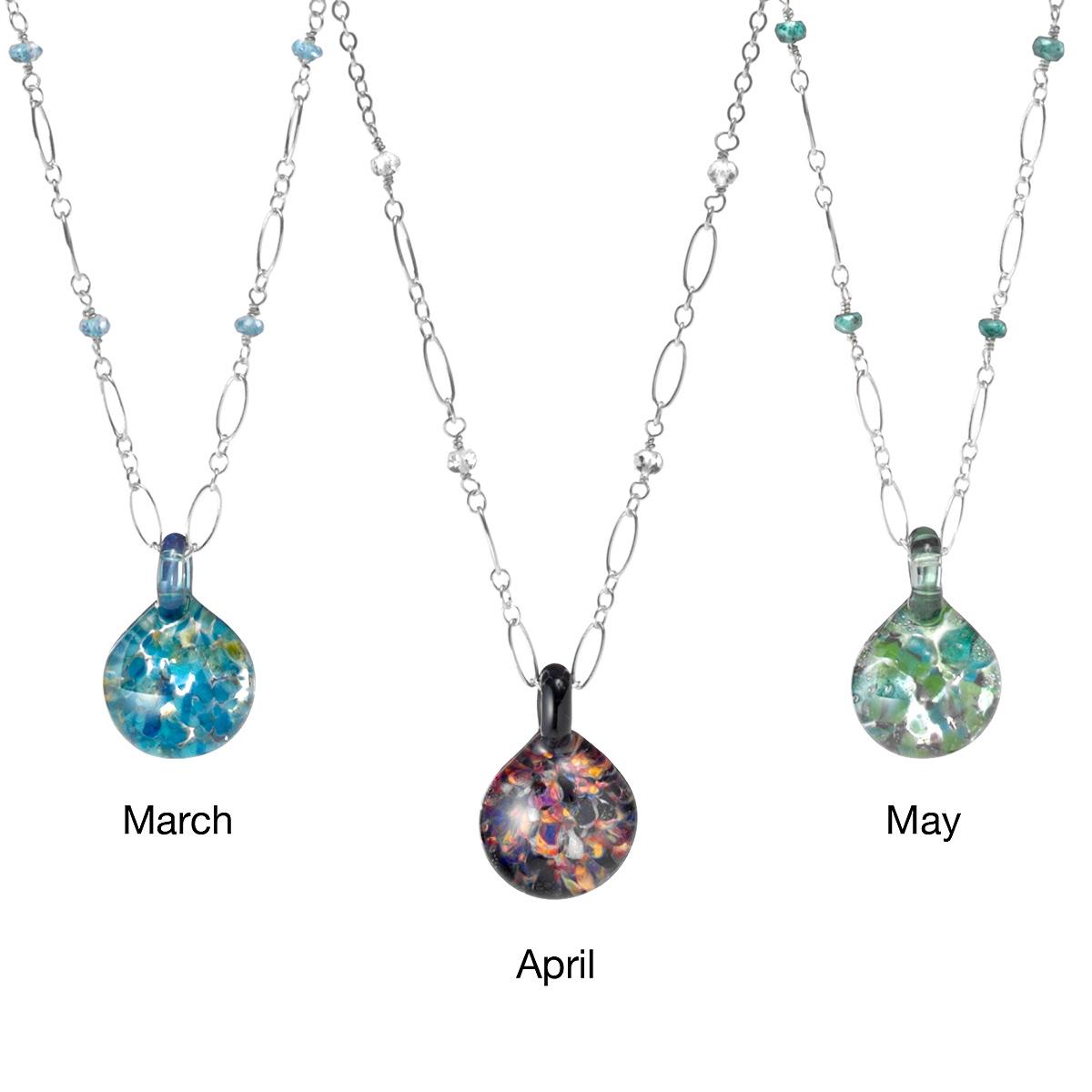 Birthstone necklace birthstones necklaces gems stones jewelry