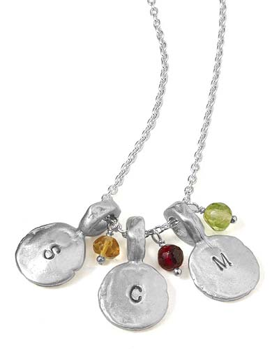 FAMILY BIRTHSTONES NECKLACE