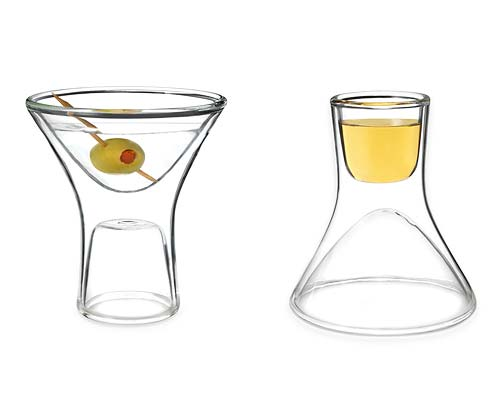 HAPPY HOUR GLASSES - SET OF TWO