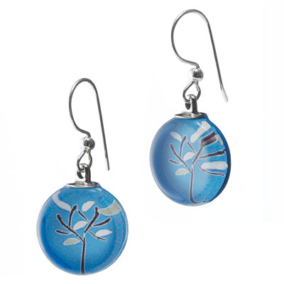 BLUE BRANCH EARRINGS