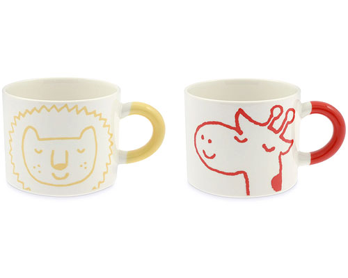 LION & GIRAFFE MUGS