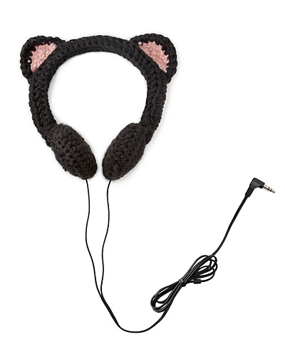 BLACK CAT HEADPHONES