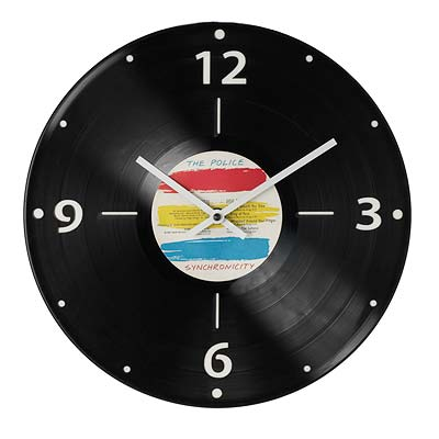CUSTOM RECORD CLOCK