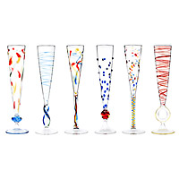 ROSSINI FLUTES - SET OF 6