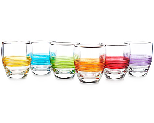 DOUBLE OLD-FASHIONED GLASS SET OF 6