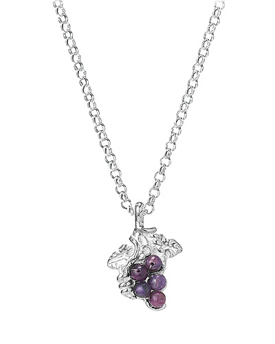 FARMER'S MARKET GRAPE NECKLACE