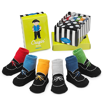 JOHNNY CRUZIN' SOCKS - SET OF 6