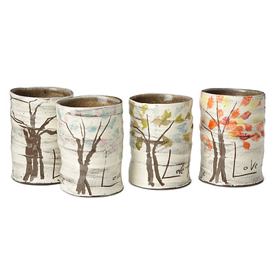 FOUR SEASONS MUGS - SET OF 4