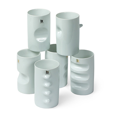 SYMBOL CUPS - SET OF 6