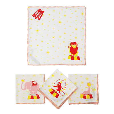 BIG TOP NAPKINS - SET OF 4