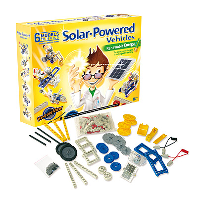 SOLAR-POWERED VEHICLES KIT