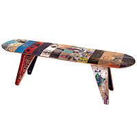 SKATEBOARD BENCH - LONG