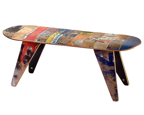 SKATEBOARD BENCH - SHORT