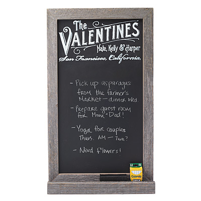 PERSONALIZED CHALKBOARD