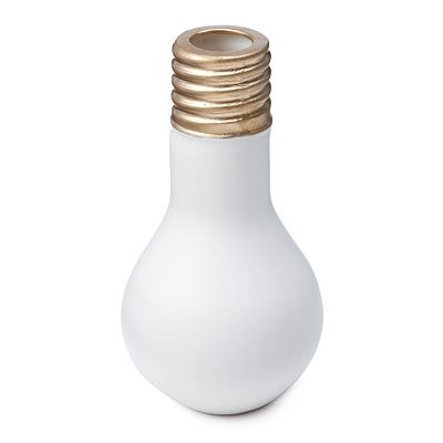 LIGHTBULB CANDLESTICK HOLDER