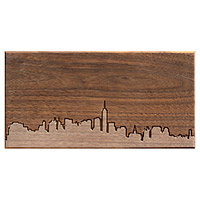 CITY SKYLINE WOODEN ROUTING