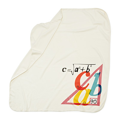 PYTHAGOREAN THEOREM SWADDLING BLANKET