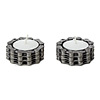 Bike Chain Tea Light Holders - Set of 2
